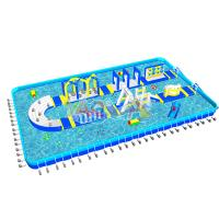 Buy cheap U-Turn Inflatable Aqua Amusement Park from wholesalers