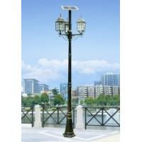 China Solar yard lamp LED / LVD 12v 7w 6500K with solar & wind energy for airport, bus station on sale