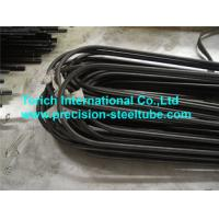 Quality JIS G 3461 Seamless Carbon Steel U Bend Tube For Boiler / Heat Exchanger for sale