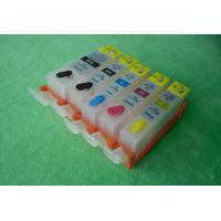 Quality Refillable ink cartridge for Canon IP726 with permanent chips  for sale