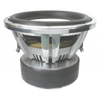 China Chromed Frame 12 Inch SPL Subwoofers 2000W RMS Chromed T Plate For Car on sale