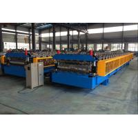 5T Roof Panel Double Layer Roll Forming Machine 0.3-0.8mm 18 Stations