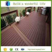 Quality 2018 good price wpc composite wood plastic garden fence wholesale for sale
