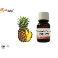 China Free - Sample Food Essence Flavours , Natural Pineapple Flavor PG Based on sale