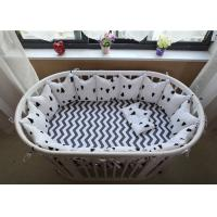Quality Real Simple Solid Baby Crib Bedding Sets Bed Reducer With Logo Customized for sale