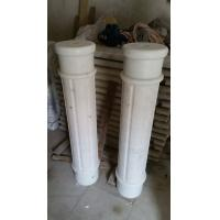 Marble Ionic Column Guangxi White Marble Roman Column China Carrara Marble Doric Column for sale