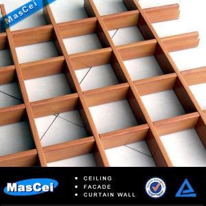 Quality Decorative false ceiling design/ aluminum open ceiling system for hall for sale