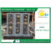 Quality Decorative Indoor Wall Cast Stone Garden Fountains High Grade Hand Carved for sale