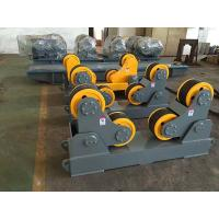 Quality Self Aligning Welding Rotator Pipe Stands Welding Pipe Rollers With Wireless Hand Control Box for sale