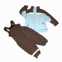 Buy Children's suit/skiwear, made of polyester fabric, waterproof and breathability at wholesale prices