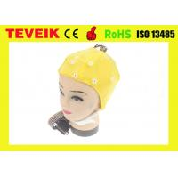 Buy High Precision EEG Electrode Cap With Different Sensor 20 ~ 128 Channels at wholesale prices