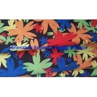 Quality Water Repellent Garment Poly Twill Fabric  Drill Microfiber Peach Skin Floral Printing for sale