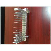 Quality 6063 T5/T6 Extruded Aluminum Profiles Heatsink For Water Cooler / Electronic Radiator for sale