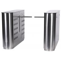 Quality Mechanical / Infrared RFID Turnstile Door Subway / Supermarket Turnstile for sale