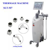 China CPT Thermage Equipment / Bipolar RF Beauty Machine For Facial Lift , Body Slimming on sale