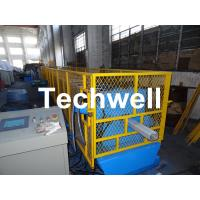 Quality Galvanized Steel Sheet Square Rainwater Downpipe Roll Former For 80mm, 100mm Or 120mm Coil Width for sale