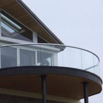 Quality Custom U Channel Railing Tempered Glass Railing Ideas for sale