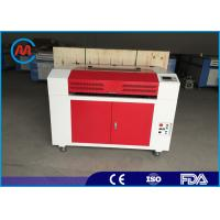 China Digital CO2 Laser Engraving Machine , High Speed Leather Laser Engraver on sale