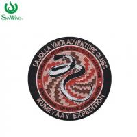 Quality Eye - Catching Custom Woven Patches Colorful Clothes Badges And Patches for sale