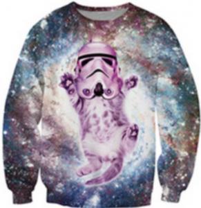 Quality Custom 3d Sublimation T Shirt , Plus Size Mens Christmas Jumpers Xxxxl for sale