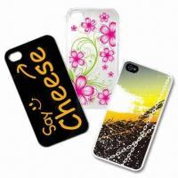 Quality Hard Skin Cases for iPhone 4/4S, Customized Patterns are Welcome for sale