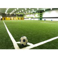Buy cheap Anti UV Artificial Turf Soccer Field / Synthetic Turf Field Olive Shape from wholesalers