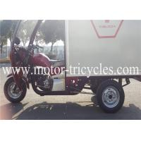 Buy Closed Box Cargo Heavy Duty Tricycle Three Wheel Motorbikes With 12V 9A Battery at wholesale prices