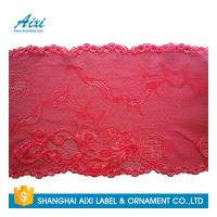 Quality Stretch Lace Nylon Embroidery Lace Fabric Spandex Lycra Lace Fabric for sale