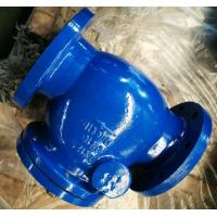 Quality DI Construction Flanged Swing water check valve with Cast iron / Ductile Iron DIN 3202 F6 for sale
