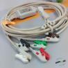 Kontron 7251 ECG Patient Cable , Medical mintor 5 lead ECG cable 12 pins for sale
