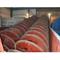 Quality Wearable Rubber Liner Submerged Spiral Classifier For Mining High Efficient for sale