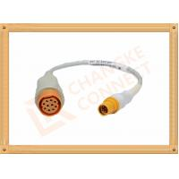 Quality 10 Pin Female IBP Invasive Blood Pressure Cable Siemens Draeger for sale