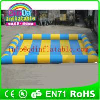 Quality inflatable pool giant inflatable water pool hot water inflatable pool for kids for sale