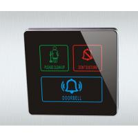 Quality Hotel Smart Electric Touch Screen Doorbell Switch System for sale