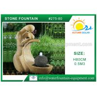 Quality Outdoor Cast Stone Garden Fountains Decorative High Grade Nontoxic Multi Style for sale