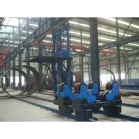 Quality 20T Self Aligning Pipe Welding Rollers With Moving Wheels On The Rails for sale