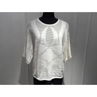 Quality Beautiful Women'S Cotton Pullover Sweaters Hollow Out Knitting OEM / ODM Available for sale