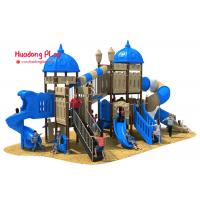 ISO9001 Outdoor Playground Equipment Light Weight Plastic Material Eco - Friendly