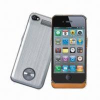 Quality Power Bank/Battery Cases for iPhone, 1,500mAh Capacity for sale
