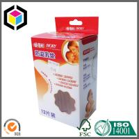 Quality Glossy CMYK Full Color Offset Print Cardboard Carton Box; Hanging Tab Paper Box for sale