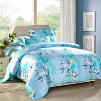 Buy Modern 4pcs Home Bedroom Bedding Sets 100 Percent Cotton Fabric Tancel Duvet at wholesale prices