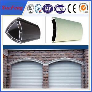 Buy extruded aluminium profiles prices per kg/coiling door,shutter door aluminium at wholesale prices