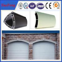 Quality extruded aluminium profiles prices per kg/coiling door,shutter door aluminium profile for sale