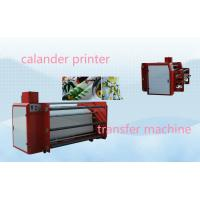China 1m Wide Roller Style Textile Calender Machine Heat Press Machine For Transfer Printing on sale