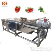 China Factory Price Air Bubble Food Cleaning Fruit Washing Vegetable Blanching Machine on sale