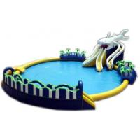Quality High Quality  inflatable pool slide with warranty 48months  GTWP-1635 for sale