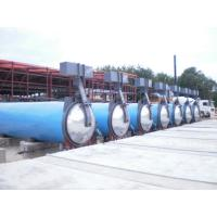 Quality Saturated Steam Wood Chemical Autoclave / Wood Block Machine , High Temperature for sale