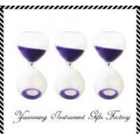 Quality 5 minutes blown  glass hour sand timer for sale