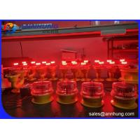 Quality FAA Type LED Aviation Obstruction Light , L-810 Red  Steady Burning  Light for sale