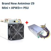 Quality Bitcoin Mining Device Antminer Z9 mini 10kh/s ZCash miner with Power supply Asic Miner for sale